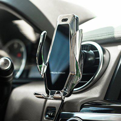 10W Infrared Sensing Wireless Car Charger Phone Holder