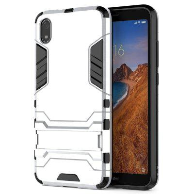 Luanke 2 in 1 Bracket Shock-proof Shatter-resistant Phone Case for Xiaomi Redmi 7A