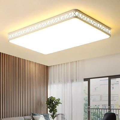 RHGD CL10079 220V 80W Modern Home LED Rectangular Ceiling Lamp