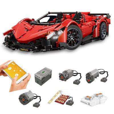 Mold King 1: 8 MOC - 13079 RC Racing Car DIY Building Blocks