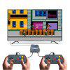 Retro 8bit 169 Games Mini HD TV Game Console with Double Gamepads - BLACK