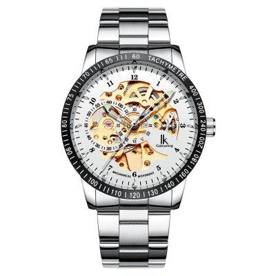 IK Colouring 98226G Fashion Men Automatic Hollow Mechanical Watch