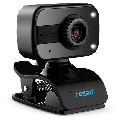 Gocomma HD Webcam 640 x 480 Risoluzione USB Webcam Incorporato Cancellazione di Rumore Microfono Laptop Fotocamera per PC Laptop Desktop Notebook