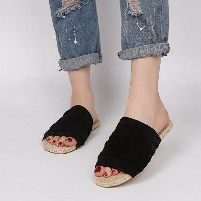 Casual Comfortable Ladies Flat-bottomed Lazy Slippers