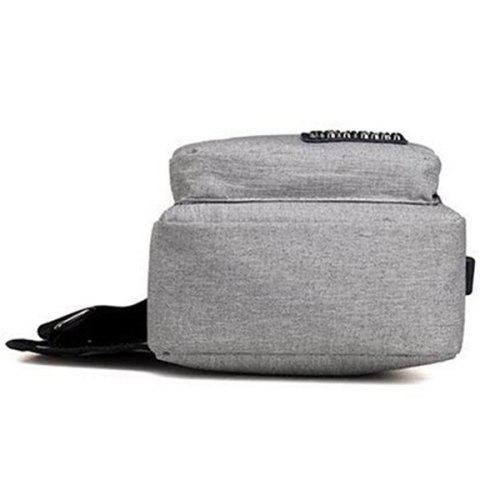 Men's Outdoor Chest Bag with USB  Charging Port