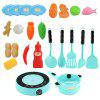 QC - 4B Electric Simulation Cooker Light / Ringtone / Simulation Digital Display Voice Report Function 25pcs - ROBIN EGG BLUE