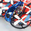 LDARC 90GTI - HD 98 mm 3S 2 inch Whoop FPV Racing Drone BNF / PNP 4 FC OSD 20A Blheli-S Brushless ESC 200 mW VTX 1080P DVR CADDX TURTLE V2 Cam - DODGER BLUE