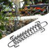 Namiot Strong Wind Outdoor Camping Fixed Spring Hook Buckle 4PCS - SREBRO
