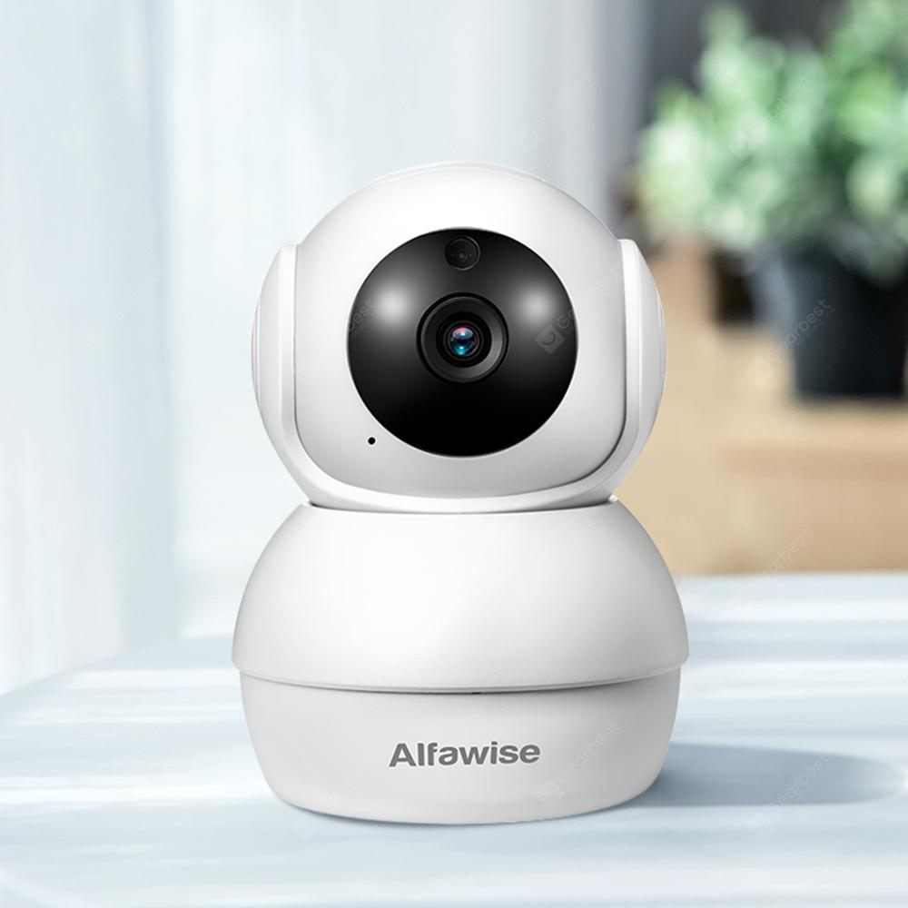 Gearbest Alfawise N816 Smart Home Security 1080P WiFi Wireless Mini IP Camera - White
