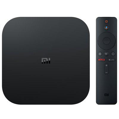 Xiaomi Mi Box-S with 4K HDR Android TV Streaming Media Player Google Assistant Remote Official International Version