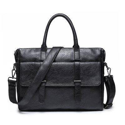 Business Men's One Shoulder Crossbody Casual Handbag