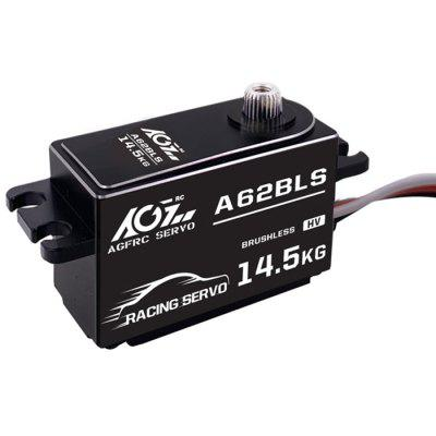 AGF A62BLS 14.5KG Wide Voltage 25T High Speed ​​0.062s Low Profile Brushless RC Servo