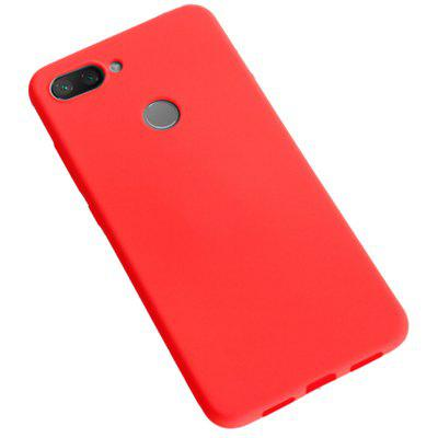 Naxtop Microfiber Lining TPU Silicone Soft Back Cover Phone Case for Xiaomi Mi 8 Lite / Mi 8 Youth