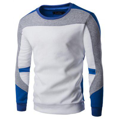 Men's Casual Crew Neck Long Sleeve T-shirt