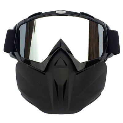 Motocross Face Mask Racing Goggles Outdoor Riding Glasses