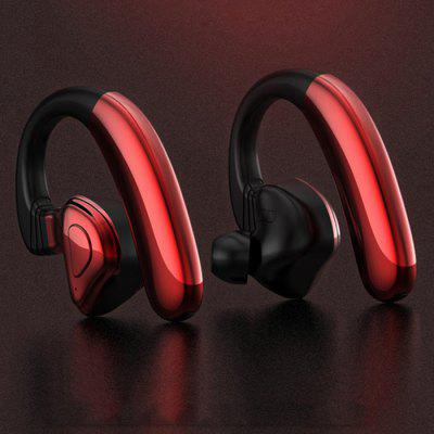Q9S Bluetooth 5.0 Double Earphone Hook Style Wireless Earbud