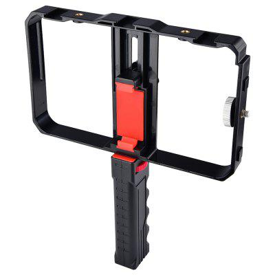 YELANGU PC02 Phone Camera Video Rig Cage Kit with Hot Shoe Handle