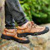 AILADUN Men's Thick-soled Outdoor Sports Large Size Shoes - BROWN