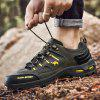 Low-top Outdoor Men's Hiking Shoes - ARMY GREEN
