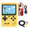 Ragebee 500 in 1 3.0 Inch TFT Display 2 Player Handheld Game Console with Gamepad - YELLOW