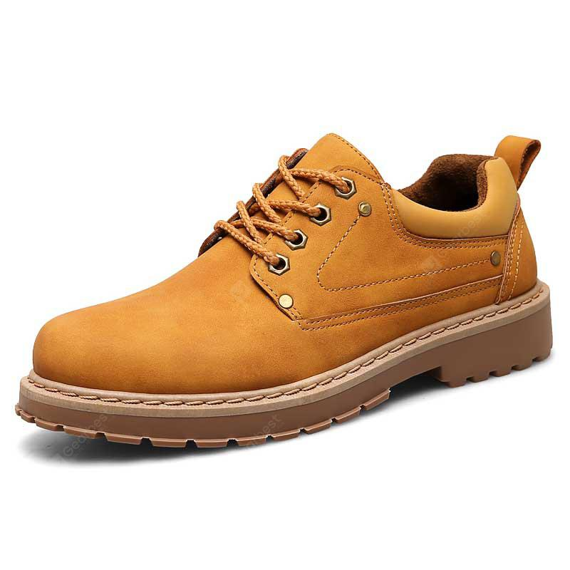 British Style Comfortable Men's Casual Shoes