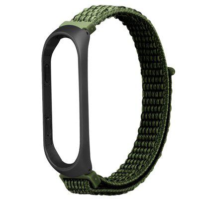 TAMISTER Loopback Nylon Replacement Wristband for Xiaomi Mi Band 4 Lightweight Edition