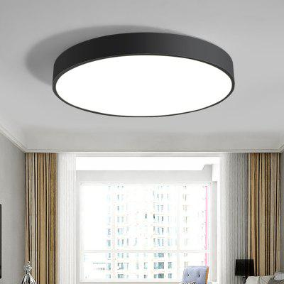 RHGD Nordic LED Ceiling Lamp Bedroom Round Restaurant Simple Modern Light