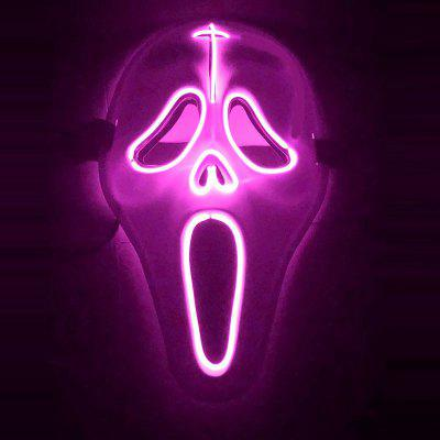 Screaming Style Glowing Mask For Masquerade