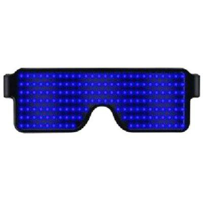 Fashion LED Dynamic Glowing Glasses for Decoration