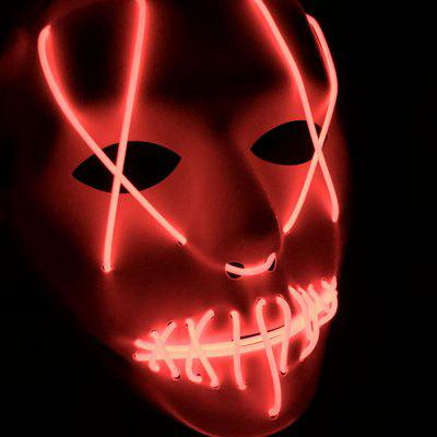 Horror Style Glowing Mask for Party