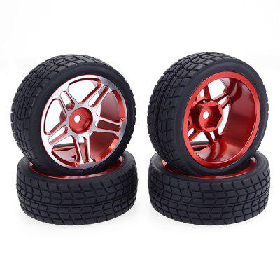 ZD Racing 1:10 Drift Car Aluminum Alloy Wheels Tire 2pcs