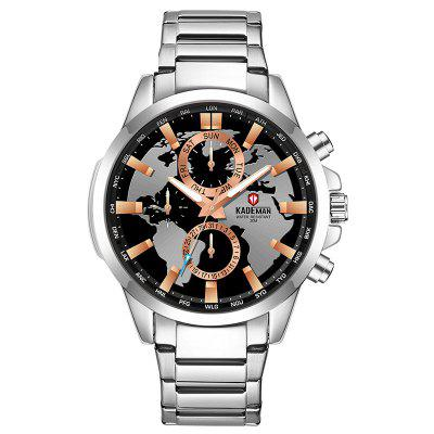 KADEMAN 443G Multi-function Men Casual Waterproof Quartz Watch with Calendar Function