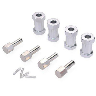Adapter ZD Racing 12 mm Extended 25mm 4szt