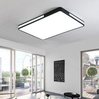 Nordic Square Simple Modern LED Living Room Ceiling Lamp