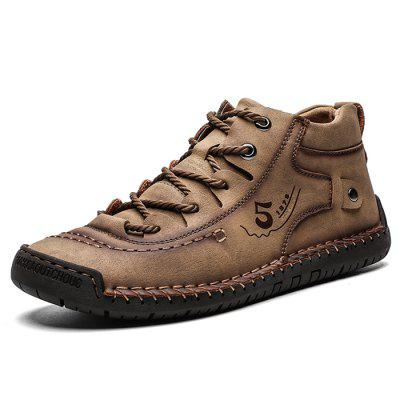 Super vezel groot formaat ademende heren outdoor casual schoenen