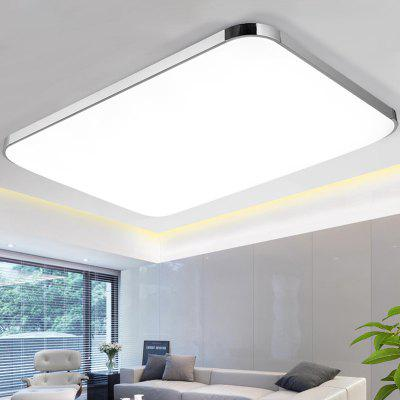 LED Ceiling Lamp Modern Minimalist Rectangular Living Room Bedroom Light