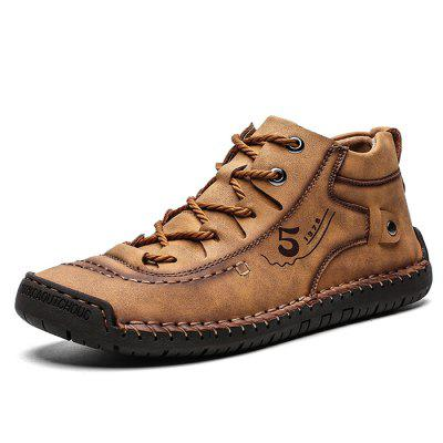 Super Fiber Large Size Breathable Men Outdoor Casual Shoes