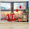 Christmas Gifts On Windowsill Digital Print Tapestry - MULTI-A