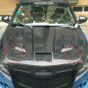 Racing Car Modified Front Cover Hood Lock - BLACK