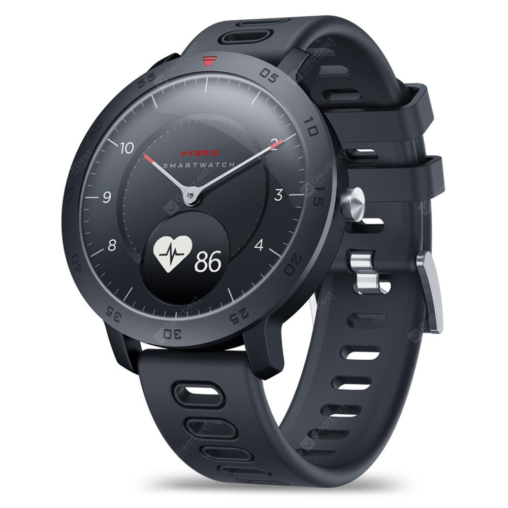 Zeblaze HYBRID Dual Modes Mechanical Smart Watch - Black