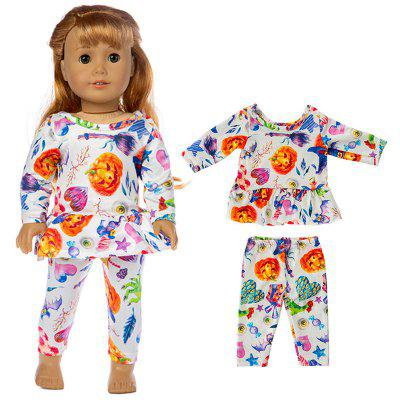 43cm 18 inch Halloween Christmas Toy Doll Clothes Suit