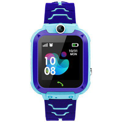 Q12 Touch Screen Kids Smart Phone Watch Front-facing Camera LBS GPS Positioning
