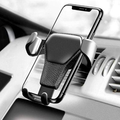 Universal Gravidade Linkage Carro Air Vent Phone Holder Mount Navigator suporte Bracket