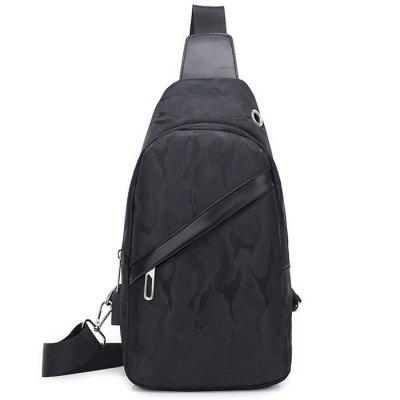 Men's Chest Bag Simple Atmospheric Camouflage Outdoor Riding Slung