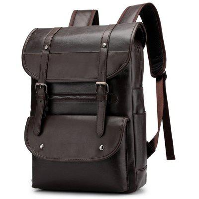 Male Large Capacity British Style Trend Wild Business Backpack