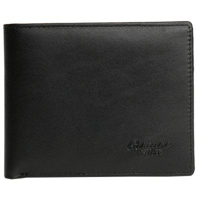 Leather Men's Retro Coin Wallet