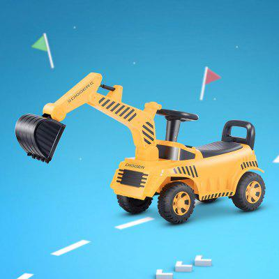 QBORN Kids Bulldozer Digger Ride-on Toy Truck from Xiaomi youpin