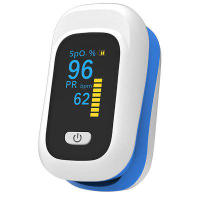 Finger-clamp Pulse Oximeter Saturation Monitor Blood Oxygen Meter