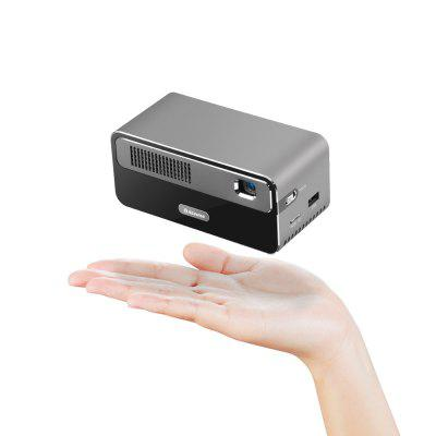 Alfawise HDP300 DLP 1080P 300 ANSI Lumens Smart Mini Projector Portable Home Cinema with 7000mAh Battery Hi-Fi Stereo Speaker Bluetooth orimag p6 portable smart mini dlp led wifi projector
