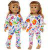 43cm 18 inch Halloween Christmas Toy Doll Clothes Suit - MULTI-A